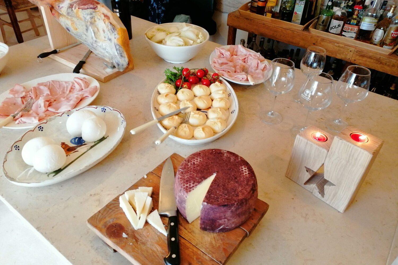 Dinner local food Puglia