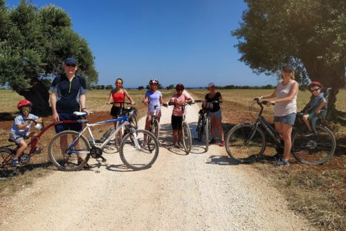 Culinary bike tour in Puglia Italy