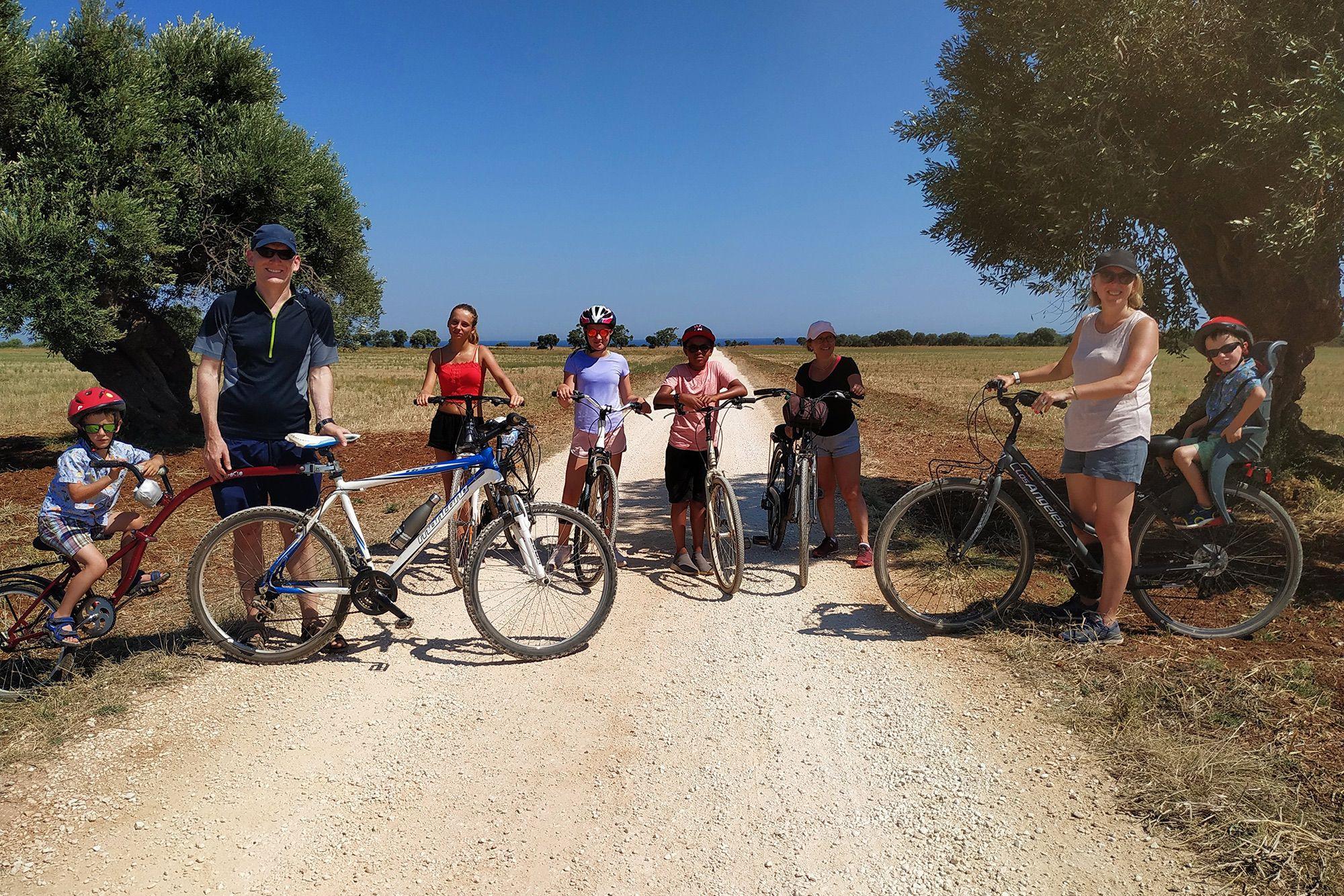 Culinary bike tour in Puglia Italy