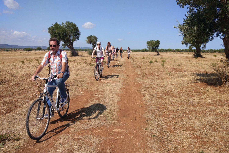 Masserie bike tour in Puglia