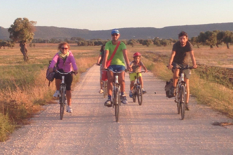 Olive oil bike tour in Apulia Italy