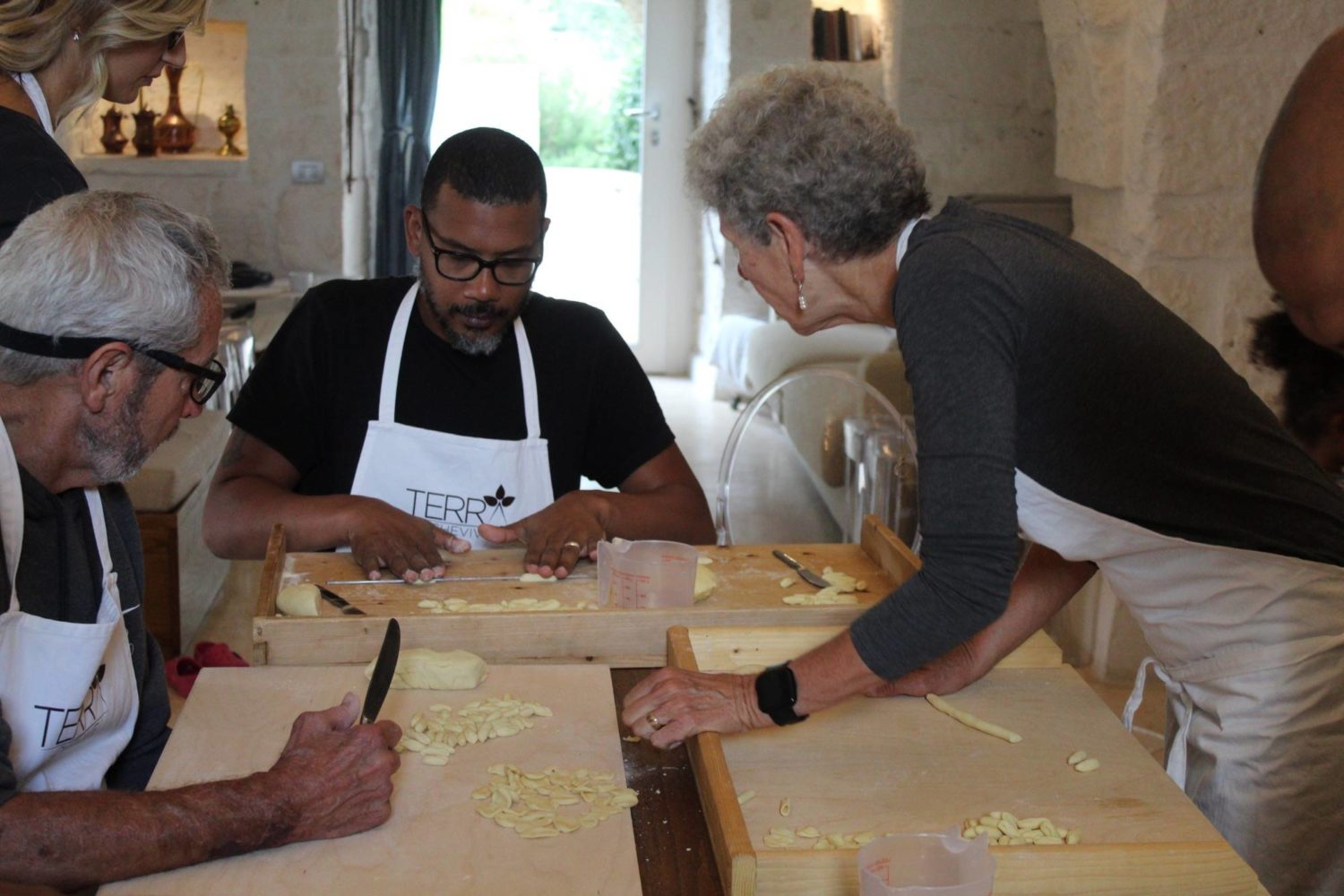 Private cooking class Puglia