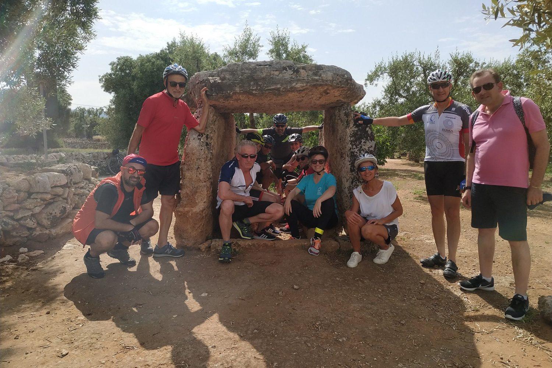 Riding bike Puglia Italy