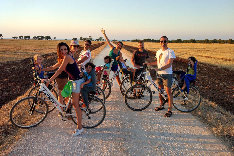 Wine bike tour in Puglia