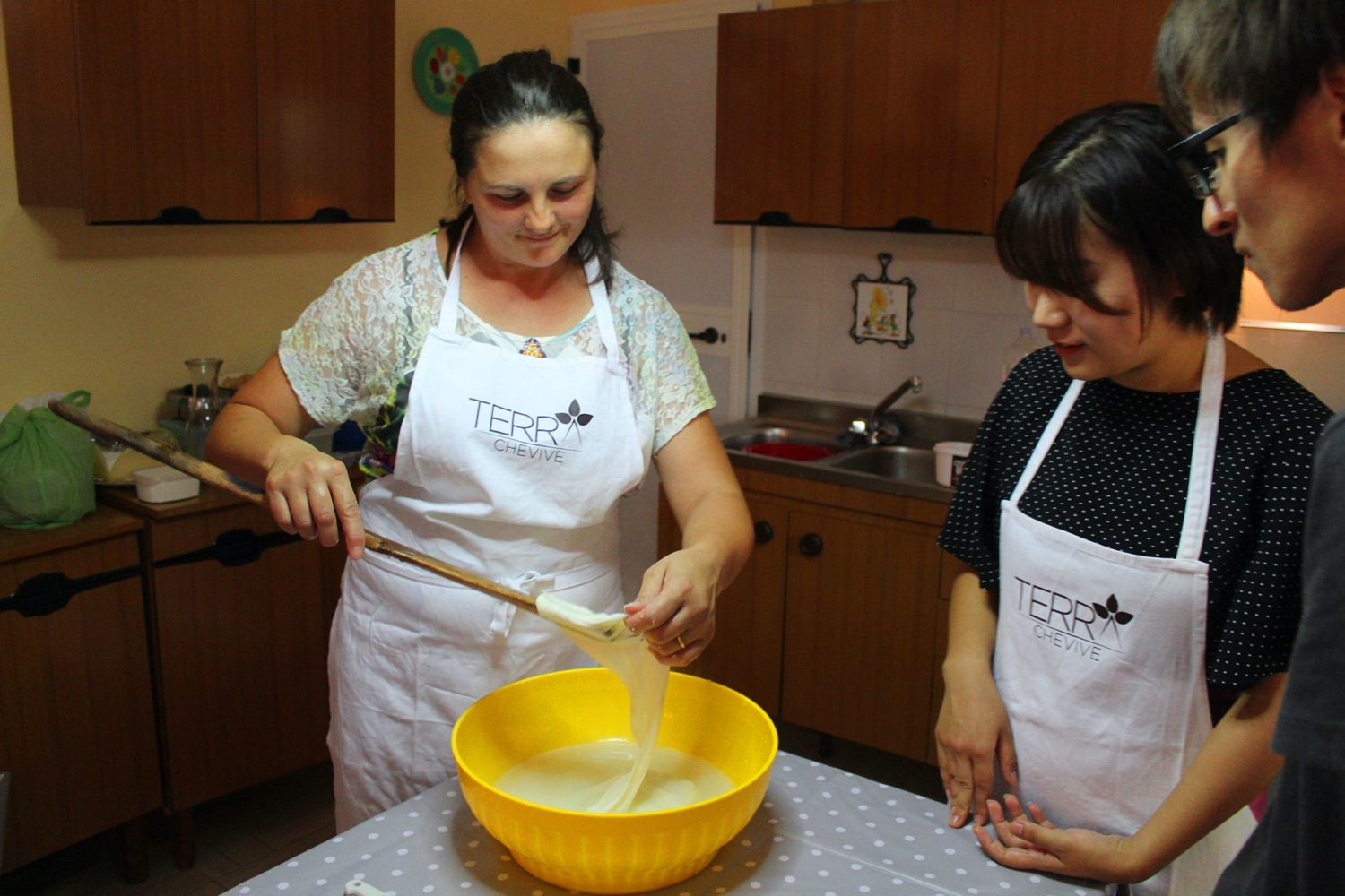 Cheese cooking class Puglia