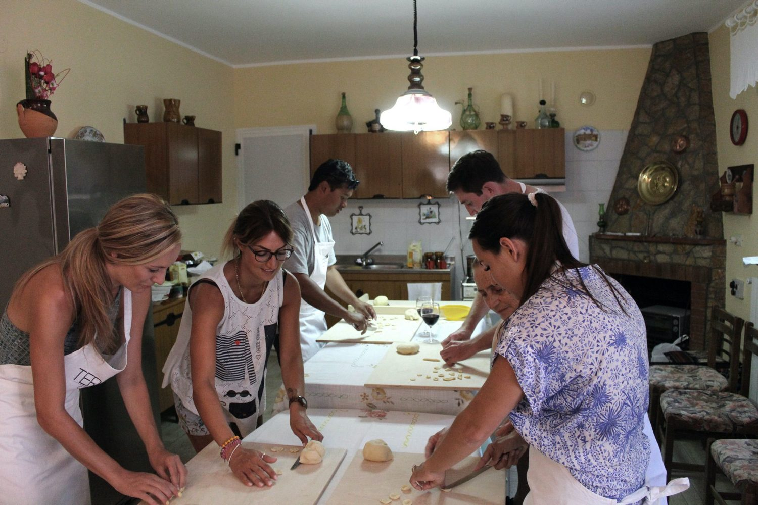 Fresh pasta cookery course Puglia
