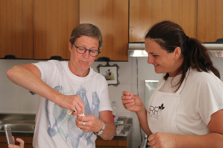 Mozzarella cookery course Puglia