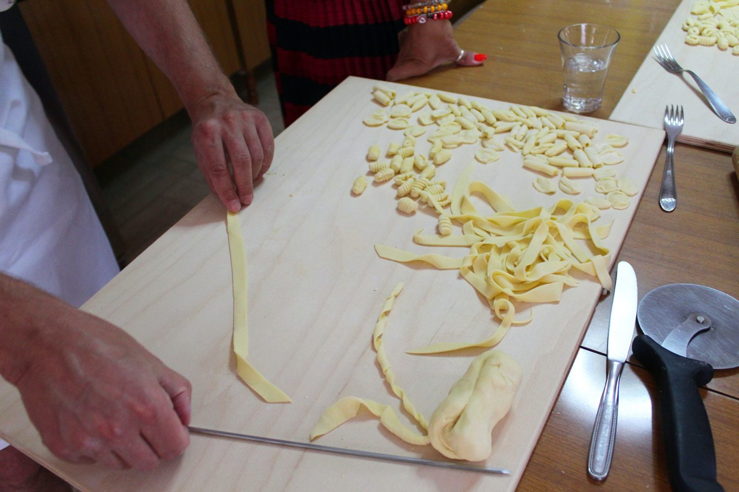 Orecchiette preparation